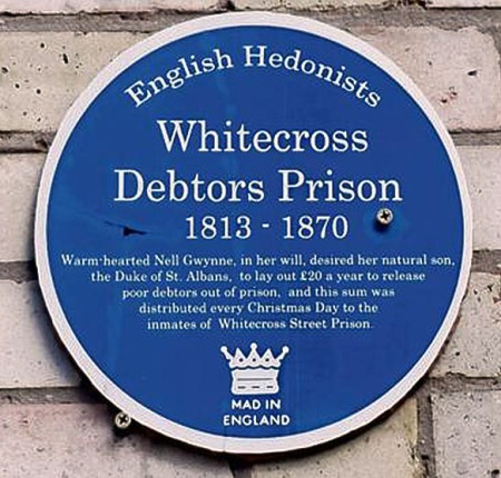 plaque-whitecross debtors